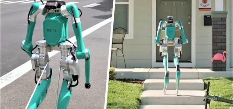 Już niedługo ten dziwny robot dostarczy Wam pizzę i paczki [FILM]