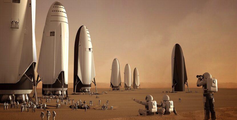 Elon Musk chce rozpocząć kolonizacje Czerwonej Planety już za 4 lata
