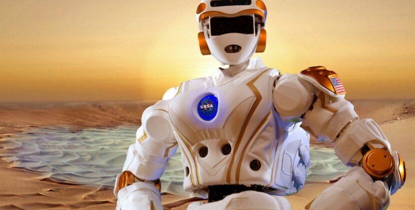 Oto humanoidalny robot NASA, który pojawi się w bazach na Księżycu i Marsie [FILM]