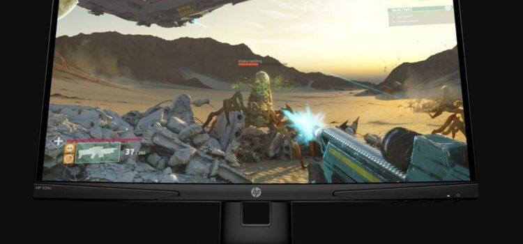 Bardzo tani monitor dla gracza może zaskoczyć – recenzja HP X24c