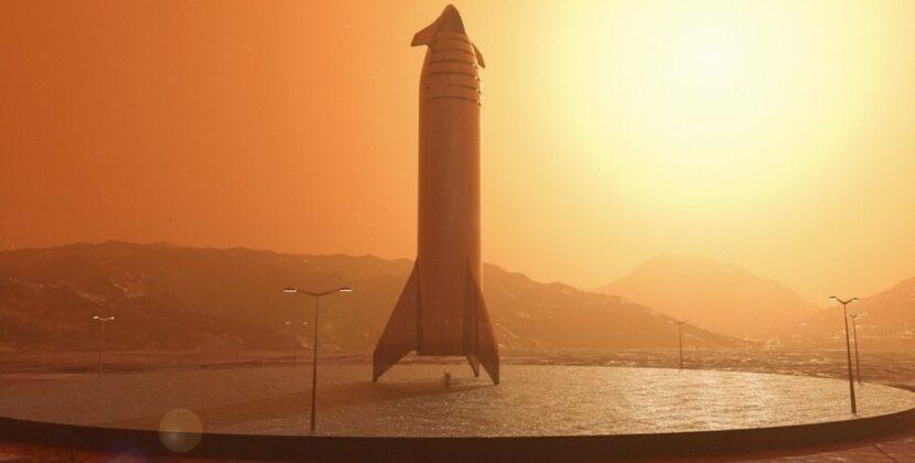 Tak dziwnie będzie wyglądało lądowanie statku Starship od SpaceX