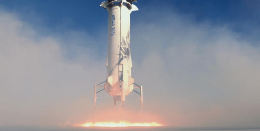 Rakieta Blue Origin kolejny raz sięgnęła przestrzeni kosmicznej [FILM]
