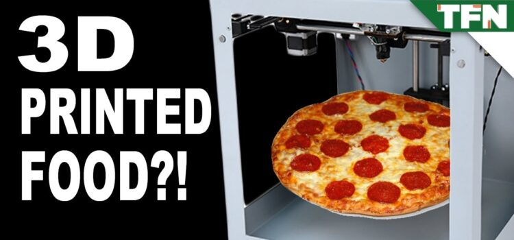 Pizza z drukarki 3D już na Ziemi